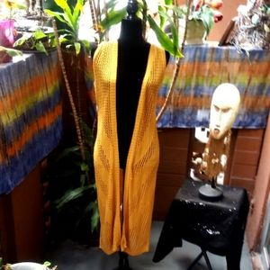 Serendipity Maxi Short Sleeve cardigan NWT